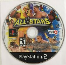 WWE All Stars Sony PlayStation 2, 2011 Game Disc Only Tested Works Free Shipping