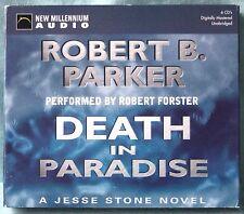 ROBERT B. PARKER - DEATH IN PARADISE - 6 CD AUDIOBOOK n.5880 IN INGLESE