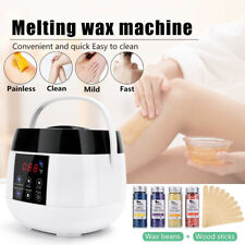 500ML Waxing Kit LCD Heater Wax Warmer Pot Hair Removal Machine+beans hot set UK