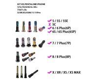 2X KIT VIS PENTALOBE IPHONE 4/5/5C/SE/5S/6/6S/7/8/PLUS/X/XS/XSM/11/11p/11PM