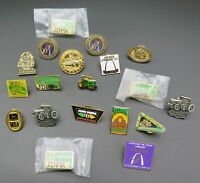 John Deere Tractors Agriculture Pin Button Tie Tack Hat Lapel 19 Lot