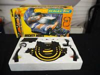 Micro Scalextric Mighty Mini's cooper complete Set Boxed England Slot Car Racing