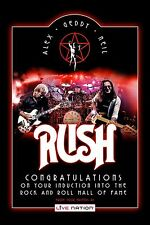Canadain Rock: Rush Rock & Roll Hall of Fame Promotional Poster 12x18