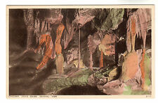 Cox's Caves - Cheddar Photo Postcard c1920s