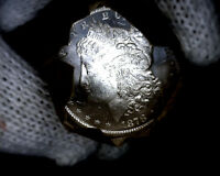 1878-cc Blast White Unc Morgan Silver Dollar from a fresh Roll Will Grade Out