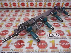 11 12 13 14 MAZDA 2 1.5L FUEL RAIL W/INJECTORS SET Z622-13-150 OEM