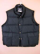 Woolrich Down Puffer Vest XL Blue Winter Extra Large Mens