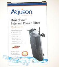 Aqueon AT10 Quietflow Internal Power Filter  10 U.S. Gal Freshwater