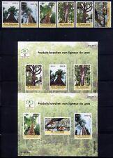 Laos Lao 2011 Wald BäumeTrees Forrest  2206-2211 + Block 232-233 Postfrisch MNH