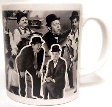 Laurel et Hardy mug porcelaine Laurel & Hardy Collage hommage Mug décoré UK