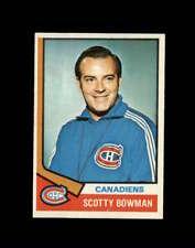 1974 Topps Hockey #261 Scotty Bowman RC CO RC  STARX 6.5 EX/MT+  CS68699