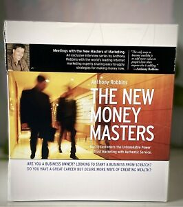 Tony Robbins The New Money Masters DVD Complete Set BRAND NEW SEALED Free Post