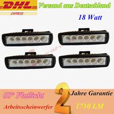 4pcs 18W T6 LED Arbeitsscheinwerfer Scheinwerfer Arbeitslampe 12v 24v SUV 36w