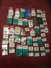 Cigarette Box 40 Empty Damage Cigarette Packs Of Marlboro Newport & Other Brands