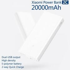 Xiaomi Mi 20000mAh Power Bank 2C Quick Charge 3.0 External Battery Dual USB UK