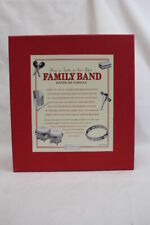 Restoration Hardware Family Band Musical Instruments Tambourine, Bongos Etc.
