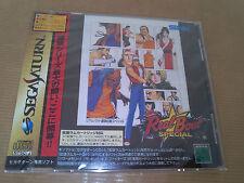 Real Bout Fatal Fury Special Sega Saturn Japan NEW