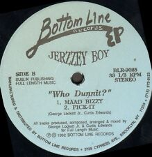 Jerzzey Boy ‎– Who Dunnit? - Bottom Line - BLR-9025  - Usa