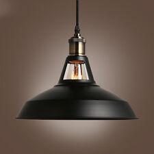Black Round Dome Cutout Retro Vintage Lamp Shade Lampshade Ceiling Light Pendant