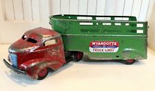 1940's Wyandotte Truck and Trailer