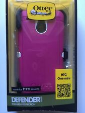 Otterbox Defender Series HTC ONE MINI PINK NEW