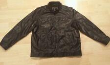 Men's i JEANS BY BUFFALO Leather Jacket Size XXL / XXG