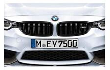 BMW Performance Kidney Grills in Black for M4 Authentic OEM 2352811 2352812