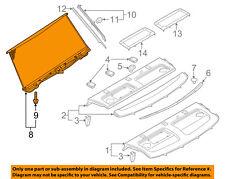 AUDI OEM 12-18 A6 Quattro Interior-Rear-Blind Sunshade 4G5861325DQBC