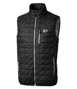 Kansas City Chiefs Cutter & Buck Primaloft Vest XL Packable Puffer Full Zip NEW