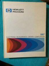 1987 HP Hewlett Packard Electronic Measurement/Design/Computation