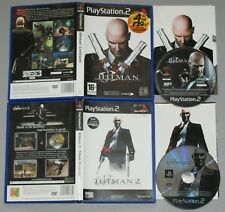 Hitman Contracts & 2 Silent Assassin bundle - Playstation Two Game PS2 PAL