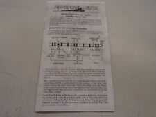 Repro American Flyer #M4895 Instructions For #26672 Electric Track Trip