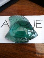 Lalique Fish , Rare/Unusual Colour , Courlis Green Spe, BNIB!!!! Gift Idea