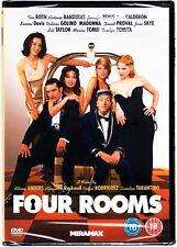 FOUR ROOMS (1995)  DVD  REGION 2 TARANTINO  COMEDY
