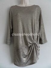 Marks & Spencer Per Una Celestial Milan Gold Top Size 20 BNWT RRP £27.50
