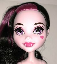 Monster High School Spirit Draculaura Nude Vampire Fashion Doll NEW to OOAK Play