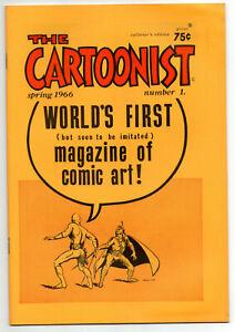 The CARTOONIST #1, Spring 1966, Fanzine - MINT CONDITION
