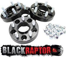 Black Raptor Jeep Commander (2006 - 2010) 30mm Aluminium Wheel Spacers