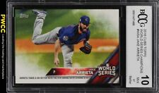 2016 Topps Cubs World Series Champions Jake Arrieta BCCG 10 (PWCC)