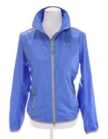 RLX Ralph Lauren Sz S Blue Mesh Lined Full Zip Up Windbreaker Jacket Womens