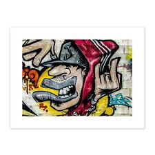 Graffiti Guy Dude Street Art Canvas Wall Art Print