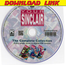 YOUR SINCLAIR Magazine Collection DOWNLOAD ALL 93 ISSUES! Spectrum QL ZX81 Games