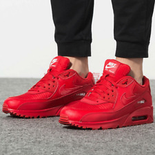 Nike Red Nike Air Max 90 Athletic Shoes for Men for sale | eBay
