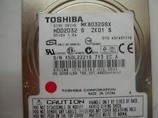 Toshiba 80gb MK8032GSX FKN6BB A5A001355