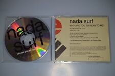 Nada Surf – Why Are You So Mean To Me? PRCD1154-2. CD-Single promo