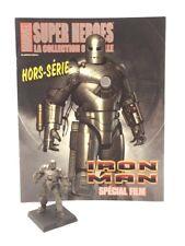 Marvel Figurine Eaglemoss Iron Man Hors Série Film + fascicule [Bon Etat]