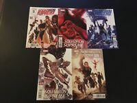 Squadron Supreme 1-5 Marvel Lot Run Set Collection High Grade Avengers Hyperion