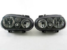 1999-2005 Volkswagen Golf GTI R32 VR6 337 TDI Cabrio Euro Black Headlight Set