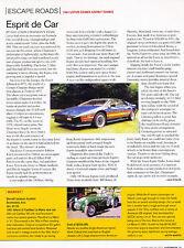 1981 Lotus Essex Esprit Turbo - Escape Road -  Classic Article A95-B