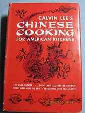 CALVIN LEE'S CHINESE COOKING FOR AMERICAN KITCHENS BOOK NEVER OPENED!